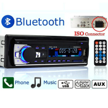 Car radio bluetooth jsd - 520 In-Dash 1 DIN 12V autoradio tuner Audio Stereo FM MP3 Players USB/SD MMC USB charger ISO Port