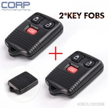 Case Only Replacement Keyless Remote Key Fobs for Ford Focus Escape Explorer