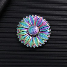 Buy Colorful Daisy Round Wheel Torqbar Autism ADHD Kids/Adult Hand Spinner Flower High Speed Finger Spinner Creative Gift for $8.74 in AliExpress store