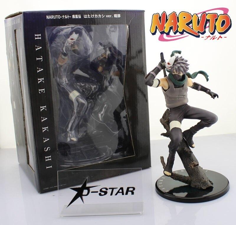 EMS Shipping 6pcs Cool 10 Naruto Anime Ninja Copiador Hatake Kakashi The Shinobi of Darkness PVC Action Figure Model Toy Gift<br>