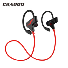 Buy CBAOOO Wireless Bluetooth Earphones Headphone Sport Running Headset Stereo Blutooth Earbuds Handsfree Mic fone de ouvido for $10.56 in AliExpress store