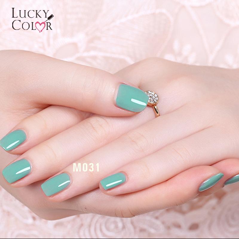 12 Colors Cyan-blue Serise Gel Varnish Soak Off LED UV Nail Polish Art Long Lasting Lacquer Manicure Beauty 10GBottle