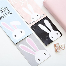 T56 10X Cute Kawaii Lovely Rabbit Paper Envelope Creative DIY Tool Greeting Card Cover Scrapbooking Gift(China)