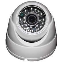 Free Shipping Cheap CMOS 960 HD1000TVL Dome CCTV Camera System Metal Casing 3.6m Lens