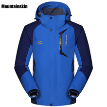 Men's Spring Autumn Breathable Jackets Outdoor Sports Brand Coats Waterproof Clothing Hiking Camping Trekking Male Jackets VA086