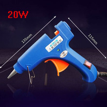20W Hot Glue Gun professional EU Plug High Temp Heater  Art Craft Repair Tool Electric Hot Melt Glue Gun Power Tools KC1276
