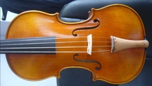 4/4 size baroque violin with ebony fingerboard and flamed maple tailpiece , violin(China)