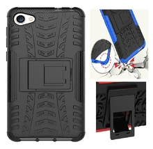 Cool bracket Rugged Kickstand Armor Case for Alcatel A5 LED OT5085 5085D Hard Shock Proof Cover for Alcatel A5LED Phone Cases(China)