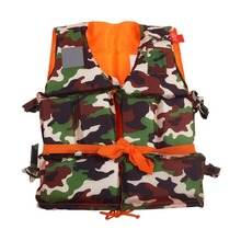 adult/kids Fishing life jackets life vest professional practical accessories Fishing(China)