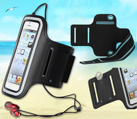 LINGWUZHE #4 Cell Phone Accessory Cycling Waterproof Pouch Gym Sport Arm Band Wrist Case For LG g4 Pro 5.8""