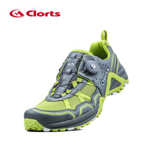 Clorts Men Trail Running Shoes Breathable BOA Lacing Sports Shoes Damped Race Runner Shoes Five Color 3F013A/B/D/F/G