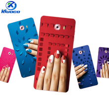 Custom Phone Cases For Samsung Galaxy C9 Pro For Galaxy Note4 / Note5 Shell For Grand Prime G530 Soft TPU Color Nail Polish