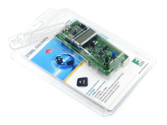STM8 Board STM8L-DISCOVERY STM8L152C6T6 STM8L Evaluation Development Board STM8 Discovery Kit Embedded ST-Link<br><br>Aliexpress