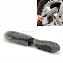 Truck Car Motorcycle Wheel Tire Rim Hub Clean Wash Useful Brush Cleaning Tool