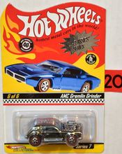 Hotwheels AMC Gremlin Grinder - NEO Classics Series 7 40th Anniversary 6 of 6 die-cast model cars