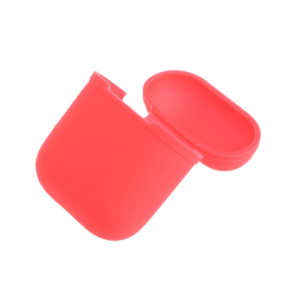 Soft Ultra Thin Silicone Protector Sleeve Cover For AirPods Earphone Charge Case