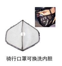 Foreign hot cycling masks non-woven liner inside the activated carbon cycling equipment inside