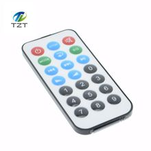 1pcs 21 key MP3 decoder board remote control with batteries(China)