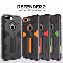 For iphone 7 plus case luxury Nillkin Defender 2nd Gen Neo Hybrid Tough Armor Slim Cover For iphone 7 plus Phone Bag 5.5 inch(China)