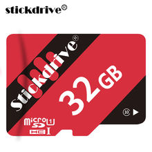 Stick Drive 100% Real Capacity Red and Black Memory Card Micro SD Card  8g 16g 32g TF Card mini memory stick for Phone/PC