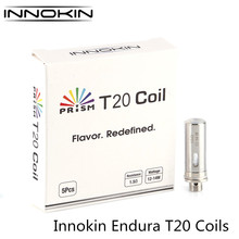 Buy 10pcs/lot Innokin Endura T20 Coil Vape Kit Replacement Coils 1.5ohm Japanese Organic Cotton Coil Electronic Cigarette Atomizer for $15.69 in AliExpress store
