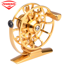 1pc Top Quality Fishing Reel Exported to Japan Glod/Silver Fly Reel 45g Fly Fishing Wheel Diameter 60mm HI45R/HI55R(China)