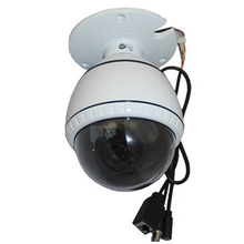 Onvif  2.0 Megapixel 1080P Mid Speed Dome IP PTZ Camera with 10x zoom IR 50M indoor Waterproof