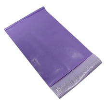 100Pcs/Lot Self Adhesive Mail Express Bag Purple Courier Postage Poly Mailing Packaging Bags Mail Pouches Goods Packaging Bag