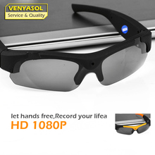 VENYASOL FULL HD Outdoor Sport Glasses Camera Polarized Mini Sunglasses Digital Video Recorder Secret Security Camcorder Cam