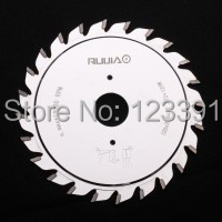 Free shipping of industrial quality 120*2.8-3.6*22/20*12+12Z TCT adjustable scoring blade for scoring Aluminum plate/alunimun(China)