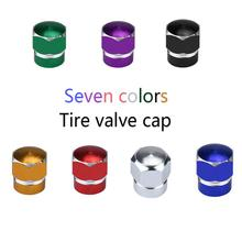 2017 Top sale NEW Fashion 7 colors 4X Car Truck Bike Tire Wheel Rims Stem Air Valve Caps Tyre Cover nice