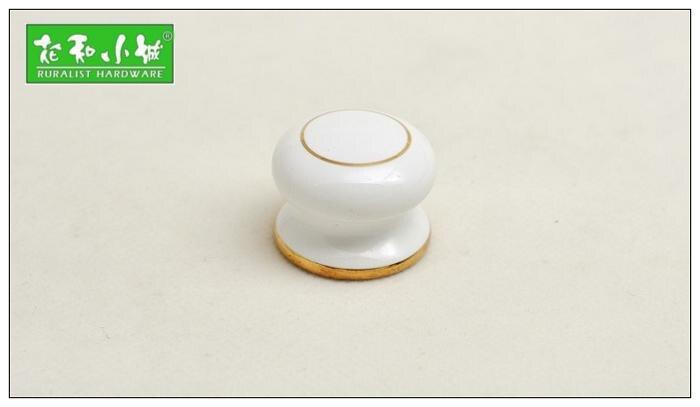10pcs lot free shipping European style porcelain ceramic drawer cabinet wardrobe door knob C055<br><br>Aliexpress