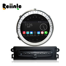Beiinle 1024*600 16G  QUAD CORE Android 4.4.4  Car 2 Din DVD GPS Radio Stereo Navi for Mini Cooper 2011-2013Year