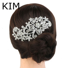 2014 Clips For Hair Vintage Inspired Bridal Wedding Hair Comb,wedding Accessories,pearl Comb,crystal Comb,bridal Headpieces