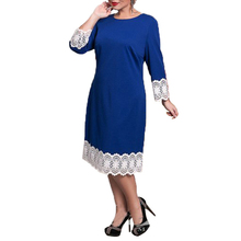Sexy L To 6xl Summer Shifting Dress Woman Elegant Party Lace Dress For Fat MM Plus Size Women Clothing Big Size Loose Dress