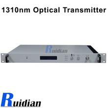 Made in china AOI laser 1310 catv Optical Transmitter/fiber optical transmitter with SNMP RTX318(China)