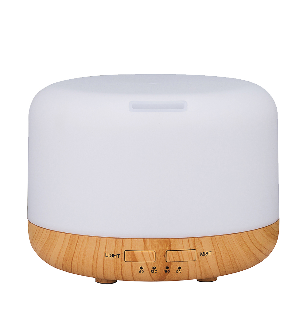 Humidifier Essential Oil Diffuser Rice Cooker Shape Aroma diffuser Diffuseur Night Light huile essential Aroma Led household<br>