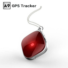 New A9 Mini Portable GPS Trackers Locator For Kids Chidren Pets Cats Dogs Vehicle Google Maps SOS Alarm GSM GPRS WIFI Tracker(China)