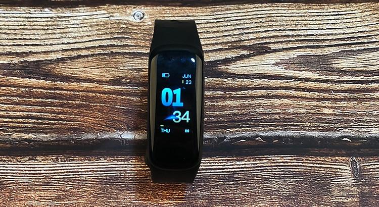 Original C1Plus Smart Bracelet Color Screen Blood Pressure Waterproof Fitness Tracker Heart Rate Monitor pk fitbits miband 3 22