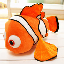 One Piece Finding Nemo Clownfish Nemo Plush Toys Pillow Golden Fish Soft Brinquedos Lovely Gifts(China)