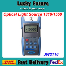 JW3116 Optical Light Source 1310/1550nm Single Mode Fiber Testing Tools