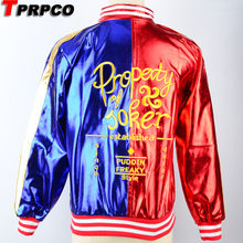 TPRPCO Suicide Squad Harley Quinn Cosplay Costume Coat Jacket C53163