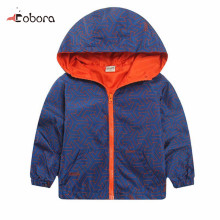 New Arrival Fashion Spring/Autumn Boy And Girls Outwear Children's Hooded Jackets Kid Long Sleeve Windbreaker