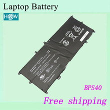 High quality Original Laptop Battery For SONY BPS40 VGP-BPS40  15V 48WH