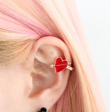 Timlee E217 Free shipping Grace Fashion Cupid's Arrow Alloy Clip Earring Ear Cuff Wholesale(China)