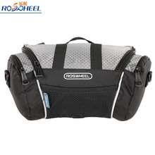 Roswheel Bicycle Bags Hot Sale Bicycle Frame Front Tube Bag PVC Bike Front Frame Handlebar Pouch Panniers for 4.8 Cell Phone(China)