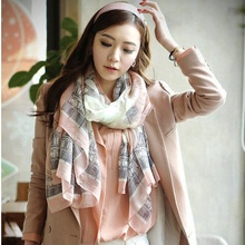 Female Elegant Women Long Print Cotton Scarf Wrap Ladies Shawl Large Silk Scarves Stole For Girl