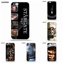 Exunton Soft Phone Чехол Coque Звездные Врата Sg-1 для Apple iPhone 4 4S 5 5C SE 6 6 S 7 плюс 8 X(China)