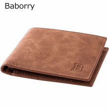 Coin Bag zipper 2017 New men wallets mens wallet small money purses Wallets New Design Dollar Price Top slim Men Wallet For Male(China)