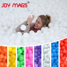 JOY MAGS Ocean Ball Pit Ball BOBO Ball 100 PCS/LOT Pure Color One Colour Eco-Friendly High Quality with CE Certification